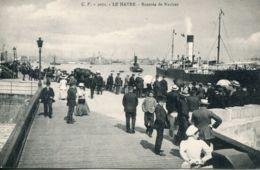 N°68094 -cpa Le Havre -rentrée De Navires- - Commerce