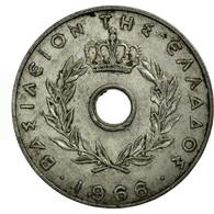 Monnaie, Grèce, 20 Lepta, 1966, TB+, Aluminium, KM:79 - Grèce