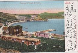 Italy Baia Panorama E Tempio Di Venere Edit Regozino N 3499,usata In Australia - Italy