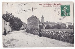 Carte Postale La Salvetat Peyrales Arr De Rodez Aveyron - Francia