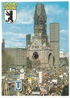 CPSM 10.5 X 15 Allemagne (86) BERLIN Kaiser-Wilhelm-Gedächtnis Kirche  L'église Du Souvenir De L'Empereur Guillaume - Allemagne