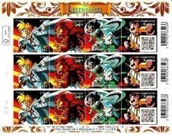 France  2016** Les Légendaires ( Feuille Complète ) - Unused Stamps
