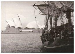 (777) Australia - Avanti Postcard - Opera House And Sailing Ship - Opera