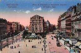 Brussel Bruxelles   Place De Brouckère Et Monument Anspach   Feldpost     X 5206 - Autres