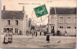 45 DORDIVES - La Rue De La Gare - Dordives