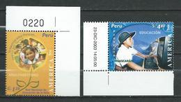 Peru / Perou 2004 UPAEP America - Literacy Campaign.Education. MNH - Perù