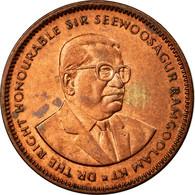 Monnaie, Mauritius, 5 Cents, 1995, TTB, Copper Plated Steel, KM:52 - Maurice