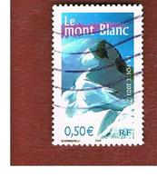 FRANCIA (FRANCE) - SG  3926H  - 2003   MONT BLANC            (FROM BF)   - USED - Francia