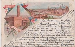 Italy Firenze 1898 Palazzo Vecchio Usata Spedita Da Germania    In  Australia - Firenze (Florence)