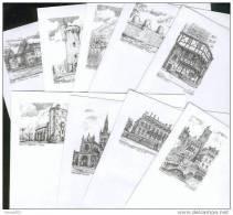 Lot De 100 Enveloppes Neuves Différentes - Illustration Yves Ducourtioux Editeur - Autres Collections