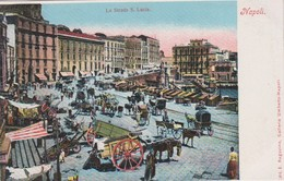 Italy Napoli La Strada Santa Lucia Edit Regozino N 2722,Nuova - Napoli (Naples)