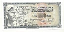 BILLET NEUF YOUGOSLAVIE  1978  QUALITE SUPERBE - Yougoslavie