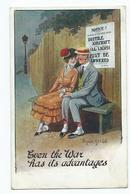 Illustrator Postcard Signed Donald Mc.gill Ww1 Two-six-three Series Inter Art.co. Used Even The War Has Advantages - Mc Gill, Donald