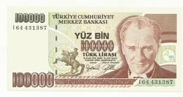 BILLET NEUF  TURQUIE   QUALITE SUPERBE - Turkey