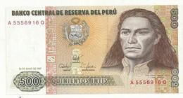 BILLET NEUF  PEROU 1987   QUALITE SUPERBE - Pérou