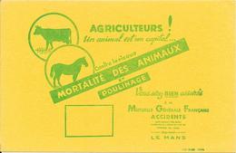 Buvard : Agriculteurs ! Un Animal Est Un Capital ...... - Banque & Assurance