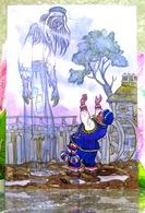 """Le Conte Populaire Lituanien """"Malheur Amer"""". Art. Carte Postale Russe Moderne. Artiste - Kotcherguine - Fairy Tales, Popular Stories & Legends"""