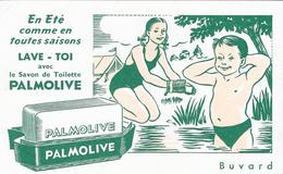 Buvard :En été Comme En Toutes Saisons  Lave Toi Avec Le Savon De Toilette PALMOLIVE - Perfume & Beauty
