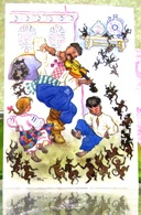 "Ukrainienne Conte Populaire ""Sinister""/ Zlidny Art. Carte Postale Russe Moderne. L'Artiste Kotcherguine - Contes, Fables & Légendes"