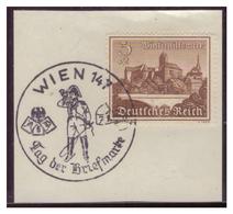 Dt-Reich (007388) Sonderstempel Auf Briefstück MNR 730, Wien 147, Tag Der Briefmarken, Gestempelt Am 7.1.1940 - Deutschland