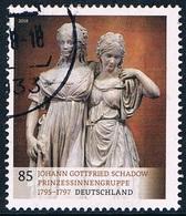 """Allemagne Fédérale - """"Groupe De Princesses"""" De Johann Gottfried Schadow (année 2018) Oblit. - [7] République Fédérale"""