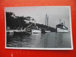 Hvar.Steamer(ship) Partizanka - Croatia