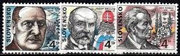 Slowakische Republik  SG. Nr. 280-282  Gestempelt (5449) - Slowakische Republik