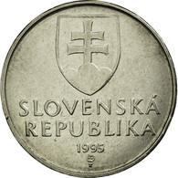 Monnaie, Slovaquie, 2 Koruna, 1995, TTB, Nickel Plated Steel, KM:13 - Slovakia