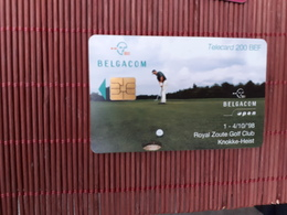Phonecards Golf Used Rare - Mit Chip