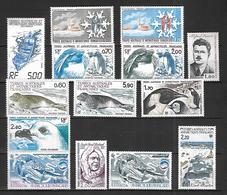 TAAF    1983  à 1986   Années Complètes    Cat Yt  N° 101   à 121   N**  MNH - Franse Zuidelijke En Antarctische Gebieden (TAAF)