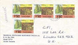 Tanzania 1985 Arusha Clove Spices Tree Cover - Tanzania (1964-...)
