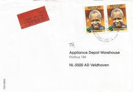 Tanzania 2010 Dar Es Salaam President Nyerere Express Cover - Tanzania (1964-...)