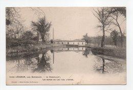 - CPA LÉOGNAN (33) - Le COQUILLAT - Les Bords Du Lac Près L'Usine 1905 - Edition Henry Guillier 2190 - - France