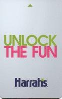 Carte Clé Hôtel Avec Casino Adjoint : Harrah's Las Vegas : Unlock The Fun - Cartes D'hotel