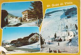 ST. GREE DI VIOLA Impianti Di Risalita + Condominio Brontolo + Complesso Rosa Delle Alpi - Italie