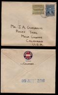 GUATEMALA - POSTE MARITIME / 1920's  LETTRE POUR LES USA  PAR S.S. COLUMBIA (ref LE2890) - Guatemala
