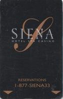 Carte Clé Hôtel Avec Casino Adjoint : Siena Hotel Spa Casino - Cartes D'hotel