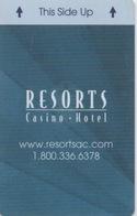 Carte Clé Hôtel Avec Casino Adjoint : Resorts Casino Hotel : Atlantic City NJ - Cartes D'hotel