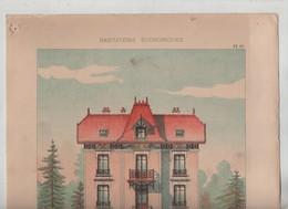 Habitations Economiques Habitation Pour Fermier Montarlot Architecte - Architecture