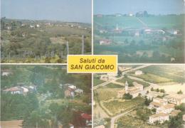 SAN GIACOMO DI ROCCA GRIMALDA - VEDUTINE MULTIVUES - NON VIAGGIATA - Other Cities