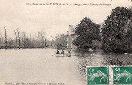 Environ De St Méen Le Grand (35) - Etang Et Vieux Château De Bléruais - Other Municipalities