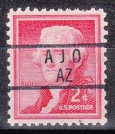 USA Precancel Vorausentwertung Preo, Locals Arizona, Ajo 837 - Vereinigte Staaten