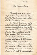 LETTRE  Signée  FRANCOISE  -  39  Boulevard  D'Italie  -  LE  VESINET  ( 1940 ??? ) - Vecchi Documenti