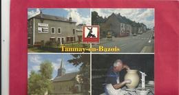 """CPM. MULTIVUES """" TAMNAY-EN-BAZOIS -AFFR AU VERSO LE 6-9-2001 . 2 SCANES - Tannay"""