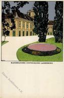 Wiener Werkstätte Nr. 265 Diveky, Josef Imperial Summer Residence Künstler-Karte I- - Kokoschka