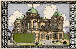 Wiener Werkstätte Nr. 317 Diveky, Josef Belvedere Palace Künstler-Karte I- - Kokoschka