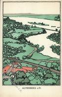 Wiener Werkstätte Nr. 672 Schwetz, Karl Altenberg An Der Donau Künstler-Karte I- - Kokoschka
