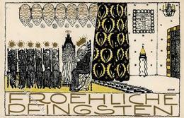 Wiener Werkstätte Nr. 816 Kuhn, Franz Pfingsten Künstler-Karte I- - Kokoschka