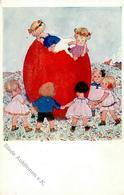 Singer, Susi Kinder Ostern Künstlerkarte I-II Paques - Kokoschka