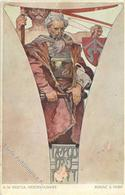 Mucha, A. Nepoddajnost Künstlerkarte 1912 I-II - Ohne Zuordnung